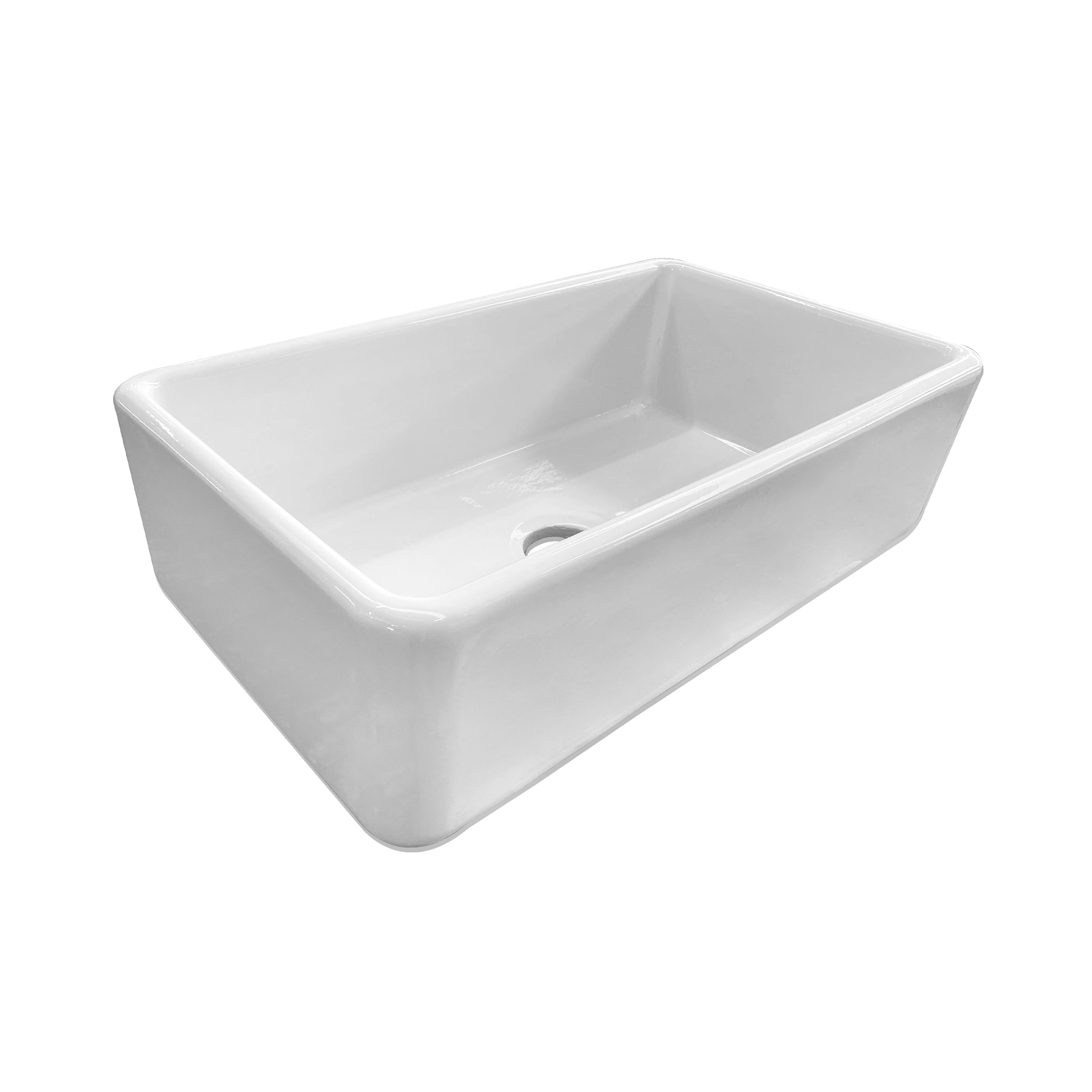 Front of the Samlesbury, a large single bowl sink.